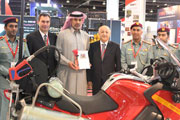 Corodex presents fire fighting CAF System 'Firexpress' to Dubai Civil Defence.
