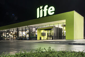 Criocabin Food Display Units at Life Supermarkets, Bulgaria