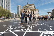 "Daniel Libeskind and Cosentino unveil in Frankfurt the ""Musical Labyrinth"" installation made with Dekton"