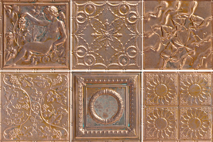 home copper depot tiles ceiling