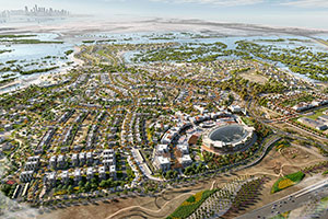 Design Works for Mixed-Use Residential and Retail Community Underway At Jubail Island