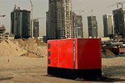 Designed to withstand high temperatures - Generator sets for desert areas