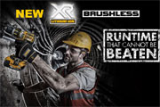 DEWALT announces XR 18V Brushless SDS-Plus Hammer Drill Range
