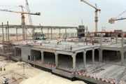 Doha Festival City construction makes significant progress.