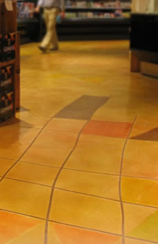 Concrete Flooring: Overlays / Micro-toppings