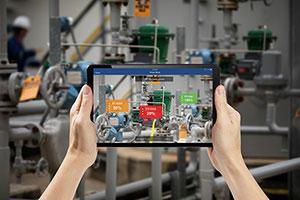 Emerson Integrates Augmented Reality into Plantweb Optics Software