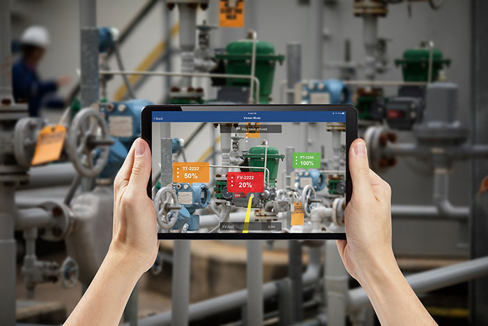 Emerson Integrates Augmented Reality into Plantweb Optics Software