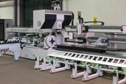 Emirates Building Systems invests in state-of-the-art industrial laser cutting machines.