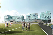 Emirates Insolaire's solar glass at Danish school to create one of the world's largest photovoltaic façades