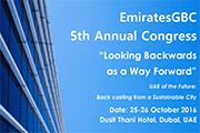 EmiratesGBC Congress to discuss UAE's achievements in sustainable development