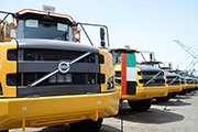 FAMCO delivers the first Volvo A45G Articulated Hauler in the UAE