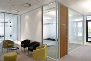 Fire Rated Double Glazed Glass Walls