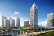 First of a kind Sparkle Towers at Dubai Marina unveiled