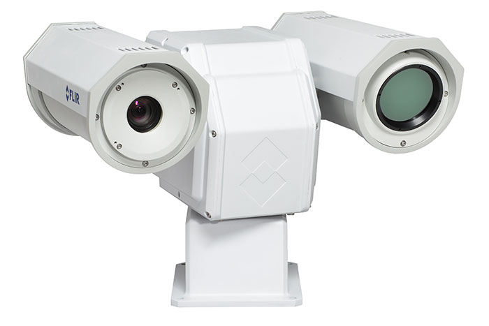 FLIR launches new long-range pan/tilt thermal security camera at IFSEC 2015