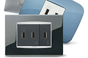 Flush-mounted USB ports - Excellent performance, great versatility