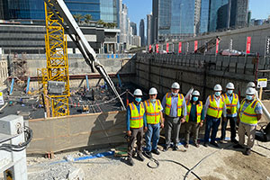 Foundation Works Completed for ZADA Tower in Business Bay