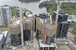 Four Jaso Luffers Working in Australia's Capital