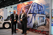 French company introduces Navya Arma, a driverless shuttle at the Airport Show
