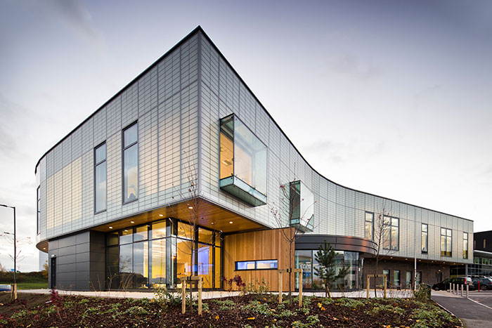 The DPTC in Rotherham, England Earns BREEAM Excellent Rating