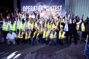 Galadari Trucks' Second Komatsu Excavator Contest Sees Competition at Full Throttle