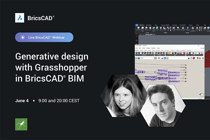 Generative Design with Grasshopper in BricsCAD BIM