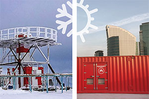 Generator Sets and Extreme Climates - How to Perform in Extreme Heat and Cold