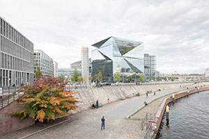 Germany's 'The Cube' Embraces Sustainability with Boon Edam Revolving Doors
