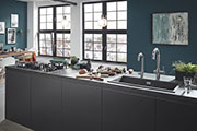GROHE Offers Individual System Solutions for the Entire Work Area Around the Kitchen Sink
