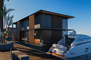 Groundbreaking luxury water homes float in on time for Cityscape Global 2017