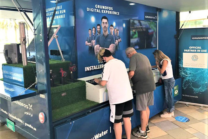 Grundfos Creates Awareness on Sustainable Living Through Mall Roadshow