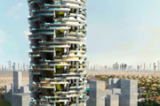 Gyproc systems chosen for Dubai's innovative rotating tower