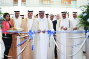 H.H. Sheikh Hamdan bin Rashid Al Maktoum opens Middle East Stone and Middle East Covering