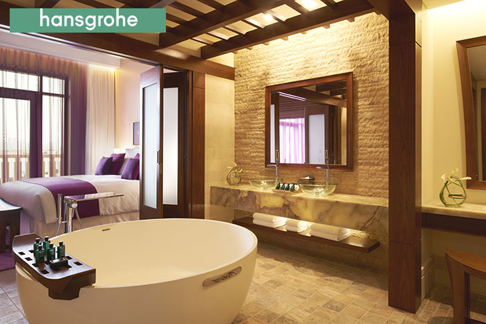 Hansgrohe products selected for stunning Polynesian themed Sofitel on The Palm Jumeirah