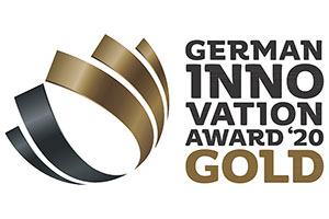 Hansgrohe RainTunes and Aquno Select M81 awarded the German Innovation Award in Gold