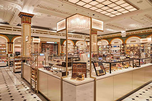Harrods – The New Chocolate Hall Made with Criocabin Display Units