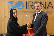 HE Nawal Al-Hosani Submits Credentials as UAE's Permanent Representative to IRENA
