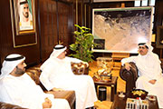 HE Saeed Mohammed Al Tayer receives delegation from Masdar