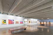 Heradesign acoustic panels reduce the noise in the Museum for Contemporary Art