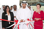 His Excellency Abdulla Saif Al Nuaimi opens Power + Water Middle East  Exhibition.