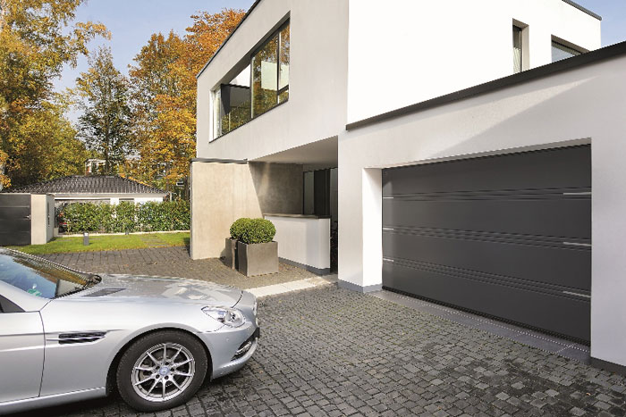 Hoermann Launches D-ribbed and T-ribbed Sectional Garage Doors with Embellishments
