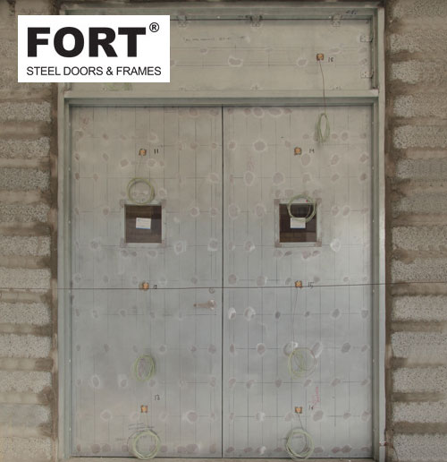 Hollow Metal Steel Doors And Frames With Ul Certification