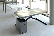 Holmris + Flexform A/S creates their tables as BIM objects