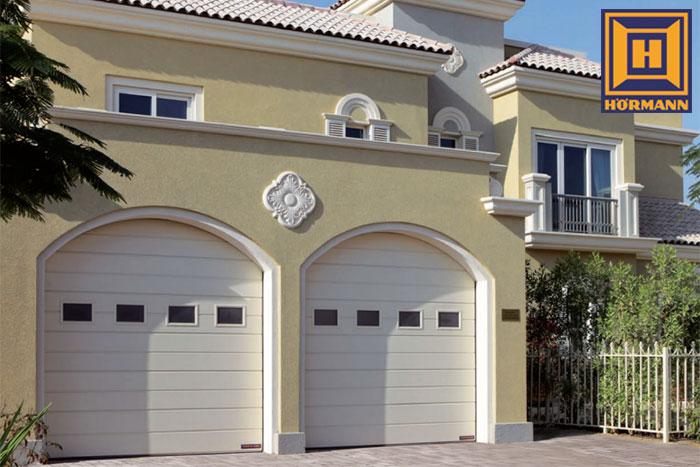 Hrmann Automatic Sectional Garage Doors