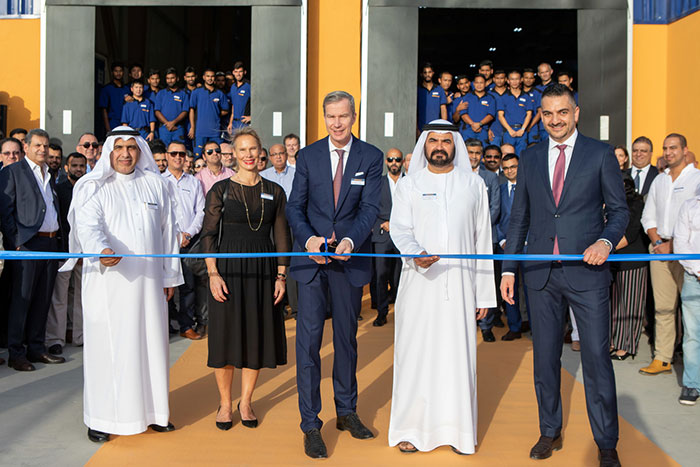 Hormann establishes 4,800sqm production line in JAFZA