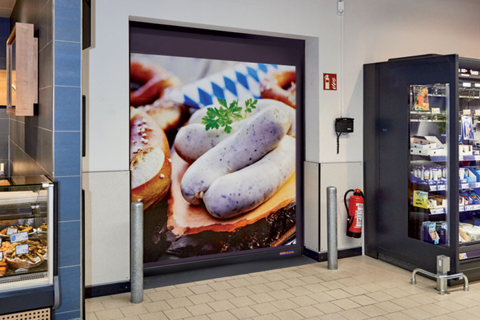 Hormann Introduces Door V2012 for supermarkets
