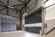 Hormann introduces Spiral doors with non-contact roll-up technology