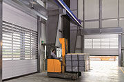 Hörmann introduces Spiral High Speed Door in the Middle East
