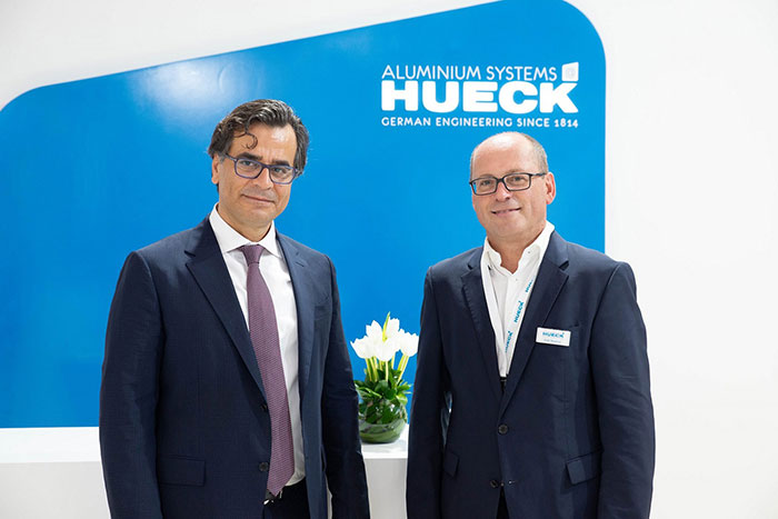 HUECK showcases innovative products and solutions at Windows, Doors & Facades Event