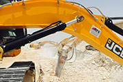 Hydraulic breakers from Chicago Pneumatic first choice for major infrastructure projects