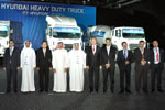 Hyundai Introduces New Heavy-Duty Trucks to the UAE.